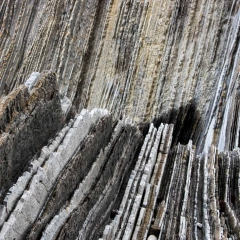 Kalkschichtungen