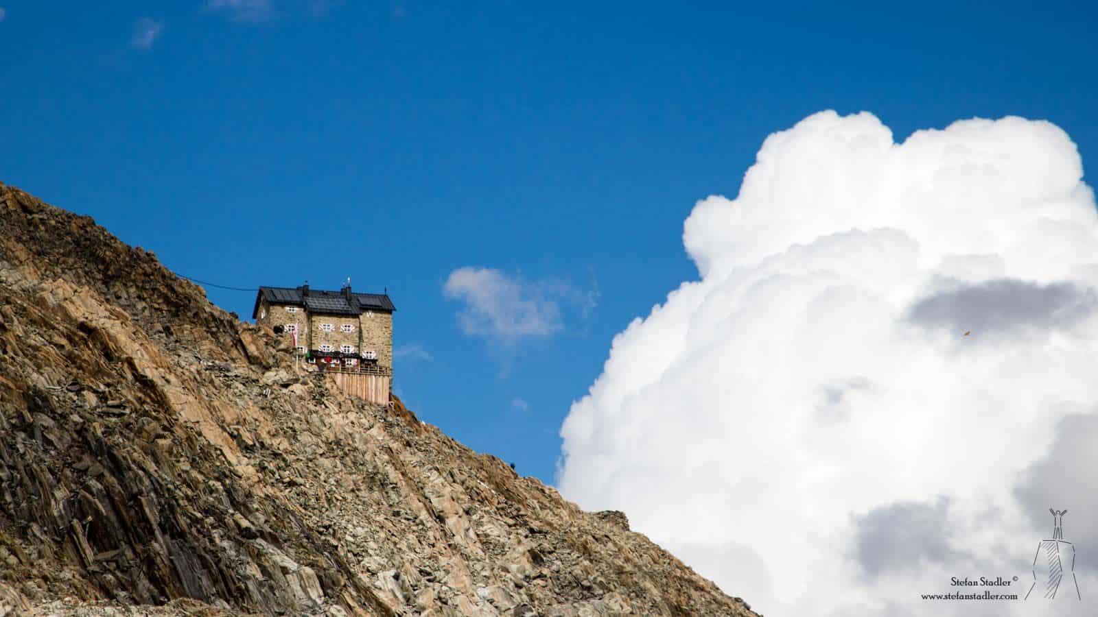 gut geführte Hütte in den Ötztaler Alpen
