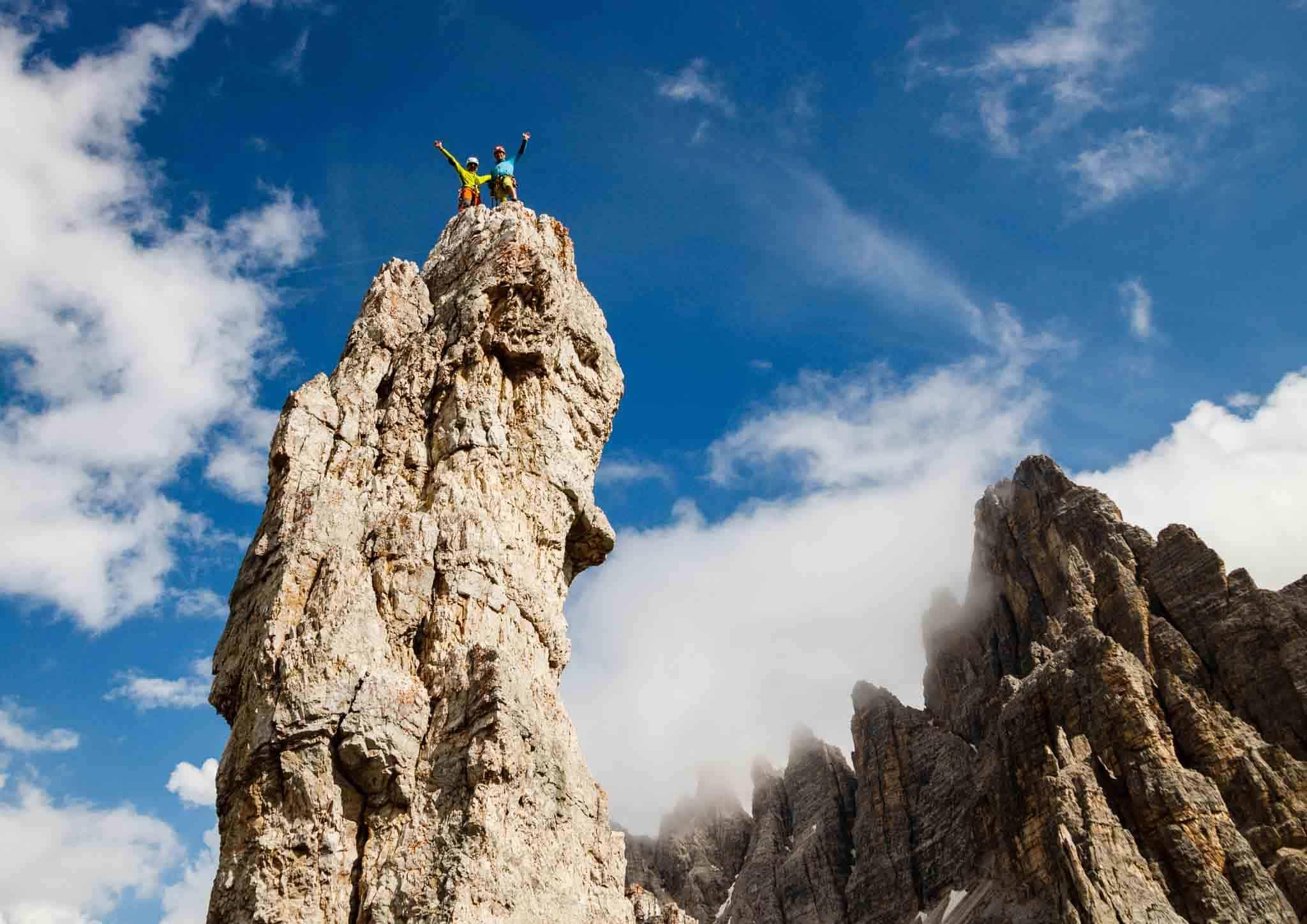 Turm Klettern